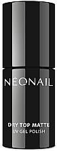 Parfumuri și produse cosmetice Top coat pentru gel-lac, efect mat - NeoNail Professional Dry Top Matte