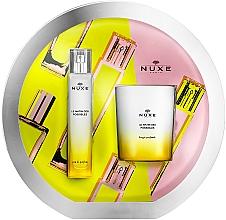 Parfumuri și produse cosmetice Nuxe Le Matin Des Possibles - Set (edp/50ml + candle/140g)