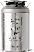 Parfumuri și produse cosmetice Pudră de lapte pentru baie - Scottish Fine Soaps Au Lait Milk Bath Powder