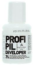 Parfumuri și produse cosmetice Oxidant Lichid Vopsea Gene și Sprâncene 3% - Kallos Cosmetics Profi Pil Developer 3%