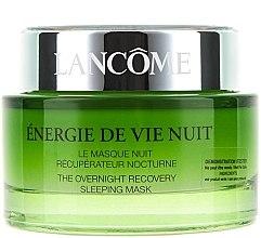 Parfumuri și produse cosmetice Mască de noapte pentru față - Lancome Energie De Vie The Overnight Recovery Sleeping Mask (tester)