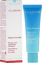 Masca pentru contur de ochi - Clarins Hydra-Essentiel Moisturizing Reviving Eye Mask — Imagine N1