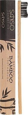 Periuță din bambus pentru dinți - Sanso Cosmetics Natural Bamboo Toothbrushes