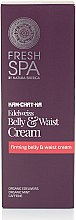 Parfumuri și produse cosmetice Cremă de corp - Natura Siberica Fresh Spa Kam-Chat-Ka Edelweiss Belly & Waist Cream