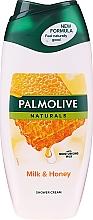 """Parfumuri și produse cosmetice Gel-cremă de duș """"Lapte și miere"""" - Palmolive Naturals"""