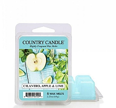 Parfumuri și produse cosmetice Ceară pentru lampă aromatică - Country Candle Cilantro, Apple & Lime Wax Melts