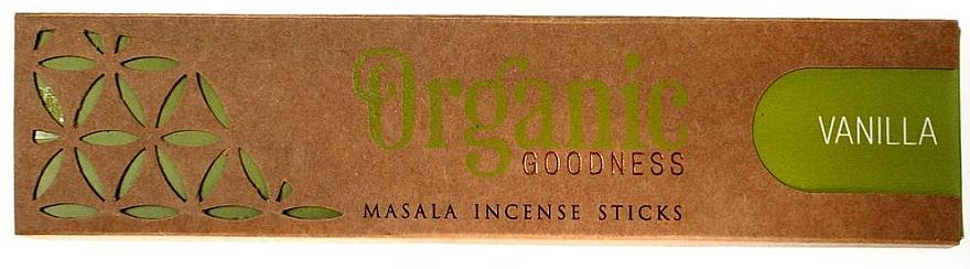 Ароматические палочки - Song Of India Organic Goodness Vanilla — фото N1