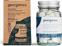 "Parfumuri și produse cosmetice Tablete pentru igiena orală ""English mint"" - Georganics Natural Toothtablets English Peppermint"