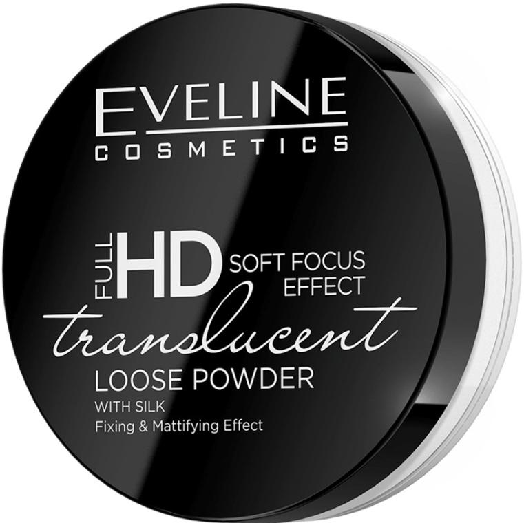 Pudră de față - Eveline Cosmetics Full HD Soft Focus Translucent Loose Powder