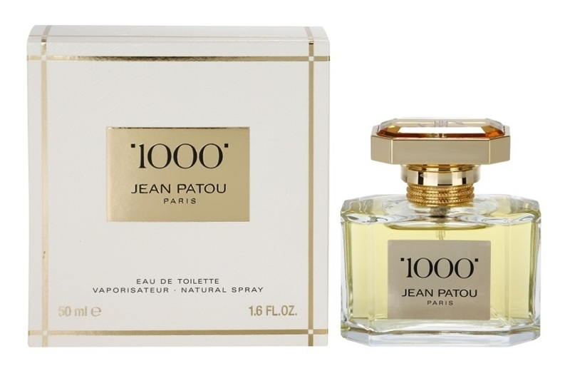 Jean Patou 1000 - Apa de toaletă — Imagine N1