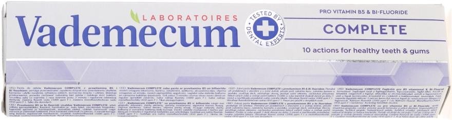 Pastă de dinți nutritivă - Vademecum ProVitamin Complex Complete Toothpaste