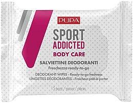 Parfumuri și produse cosmetice Șervețele umede pentru corp - Pupa Sport Addicted Wipers