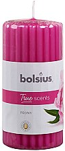 """Parfumuri și produse cosmetice Lumânare parfumată """"Bujor"""", 120/58 mm - Bolsius True Scents Candle"""