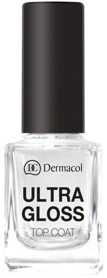 Fixator pentru unghii - Dermacol Ultra Gloss Top Coat — Imagine N1