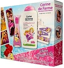 Parfumuri și produse cosmetice Corine de Farme Princess - Set (edt/30ml +sh/gel/250ml + accessories)