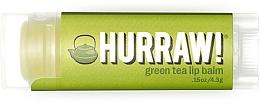 """Parfumuri și produse cosmetice Balsam de buze """"Ceai verde"""" - Hurraw! Green Tea Lip Balm"""