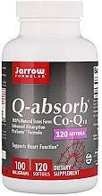 """Parfumuri și produse cosmetice Suplimente alimentare """"Coenzima Q10"""" capsule moi de gelatină - Jarrow Formulas Q-Absorb 100 mg"""