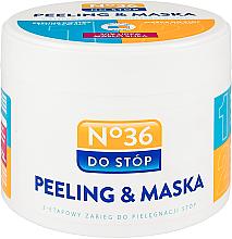 Parfumuri și produse cosmetice Masca-peeling pentru picioare, în două etape - Pharma CF No.36 Peeling & Mask