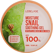 Parfumuri și produse cosmetice Gel multifuncțional cu mucină de melc pentru față și corp - Lebelage Moisture Snail 100% Soothing Gel