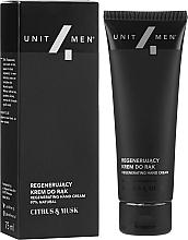 Cremă regenerantă pentru mâini - Unit4Men Citrus&Musk Revitalizing Hand Cream — Imagine N1