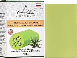 Parfumuri și produse cosmetice Săpun cu extract de aloe vera - Sabai Thai Herbal Aloe Vera Soap