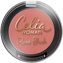 Parfumuri și produse cosmetice Fard de față - Celia Woman Rose Blush