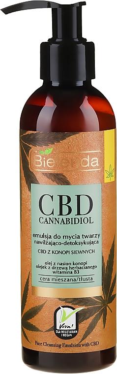 Emulsie pentru față - Bielenda CBD Cannabidiol Emulse