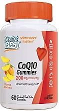 Parfumuri și produse cosmetice Coenzima Q10 Gummies, cu aromă de mango - Doctor's Best CoQ10 Gummies