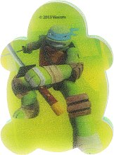 """Parfumuri și produse cosmetice Burete de baie pentru copii """"Turtle Ninja"""" Leonardo 2 - Suavipiel Turtles Bath Sponge"""