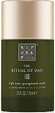 Parfumuri și produse cosmetice Deodorant-stick - Rituals The Ritual of Dao Anti-perspirant Stick