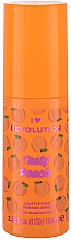 Parfumuri și produse cosmetice Primer-spray matifiant - I Heart Revolution Tasty Peach Mattifying Priming Spray