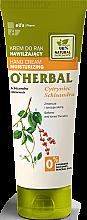 Parfumuri și produse cosmetice Cremă hidratantă pentru mâini cu extract de magnolie - O'Herbal Moisturizing Hand Cream With Schisandra Extract