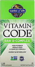 Parfumuri și produse cosmetice Supliment alimentar - Garden of Life Vitamin Code Raw B-Complex