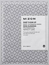 Parfumuri și produse cosmetice Mască de țesut pentru curățarea tenului - Mizon Dust Clean Up Deep Cleansing Mask
