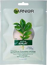 Parfumuri și produse cosmetice Burete pentru curățarea feței - Garnier Bio Polishing Konjac Botanical Cleansing Sponge