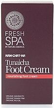 Parfumuri și produse cosmetice Crema hrănitoare pentru picioare - Natura Siberica Fresh Spa Kam-Chat-Ka Tunaicha Foot Cream