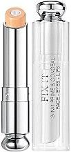 Parfumuri și produse cosmetice Primer & Corector pentru față, ochi și buze - Christian Dior 2-in-1 Prime & Conceal