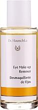 Parfumuri și produse cosmetice Demachiant bifazic - Dr. Hauschka Eye Make-Up Remover