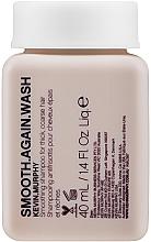 Parfumuri și produse cosmetice Șampon netezitor - Kevin.Murphy Smooth.Again Wash (mini)