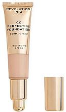 Parfumuri și produse cosmetice CC cremă - Revolution Pro CC Cream Perfecting Foundation SPF 30