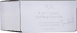 Parfumuri și produse cosmetice Pudră fixatoare pentru față - Pur 4-in-1 Loose Setting Powder