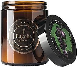 """Parfumuri și produse cosmetice Lumânare aromată în borcan """"Coacăz negru"""" - Flagolie Fragranced Candle Black Currant"""