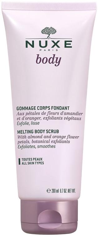 Scrub pentru corp - Nuxe Body Fondant Gentle Body Scrub