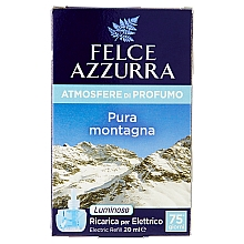 Духи, Парфюмерия, косметика Электрический диффузор - Felce Azzurra Pure Montain (сменный блок)
