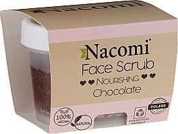 Parfumuri și produse cosmetice Scrub hidratant pentru față și buze - Nacomi Moisturizing Face&Lip Scrub Chocolate