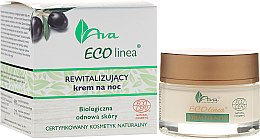 Parfumuri și produse cosmetice Cremă regenerantă de noapte - Ava Laboratorium Eco Linea Revitalizing Night Cream
