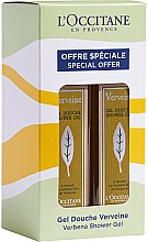 Parfumuri și produse cosmetice Set - L'Occitane Verbena Shower Gel Duo