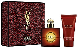 Parfumuri și produse cosmetice Yves Saint Laurent Opium - Set (edt/30ml + b/lot/50ml)
