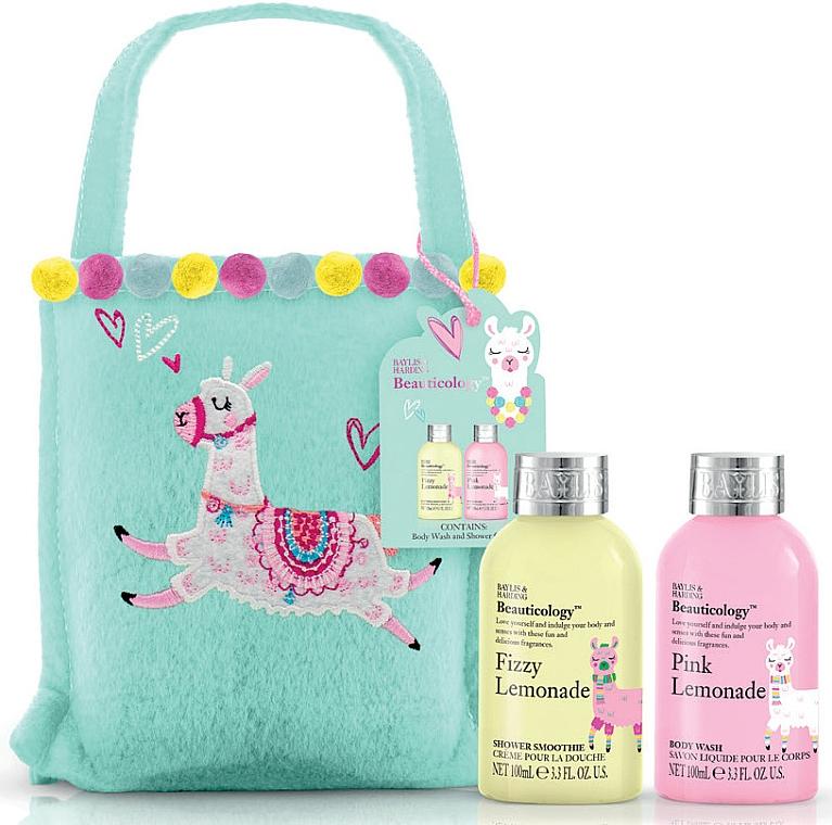Set - Baylis & Harding Beauticology Llama Small Gift Bag (sh/cr/100ml + b/wash/100ml) — Imagine N1