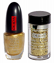 Parfumuri și produse cosmetice Set - Pupa Nail Art Mania Party Queen 001 Gold